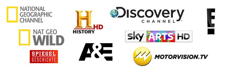 Sky Doku-Sender Logos
