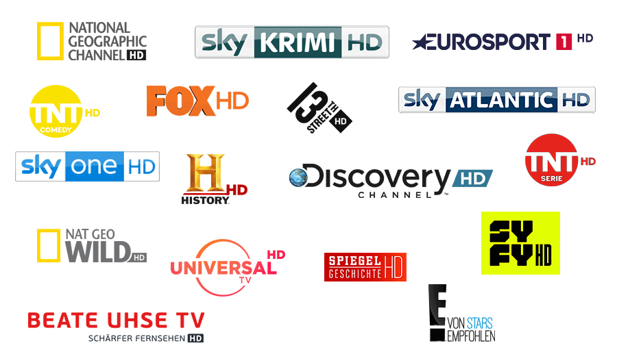 Sky Entertainment Sender HD