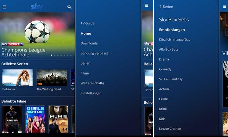 Sky Go App-Update - das sind die neuen Features