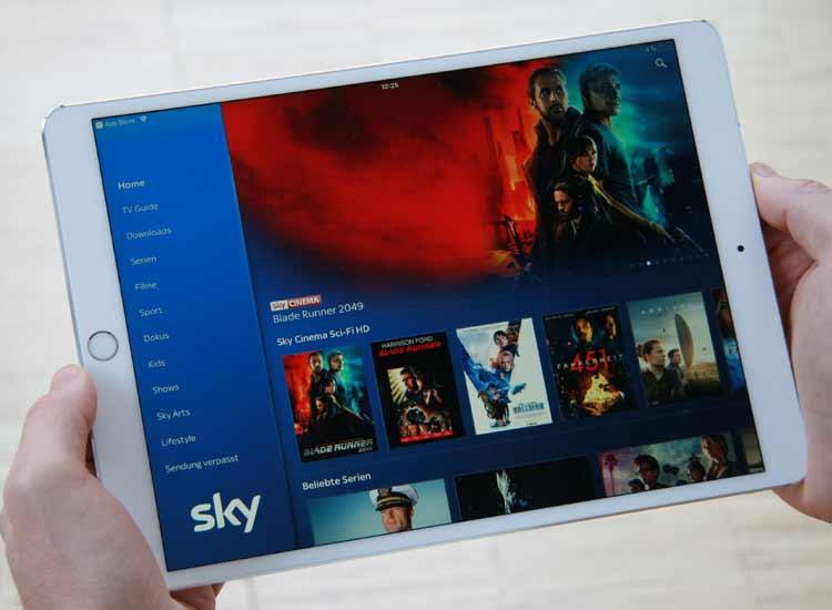 Sky Go auf dem iPad