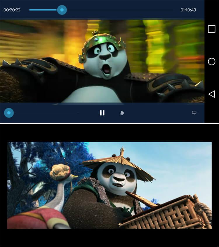 Video Player von Sky Go