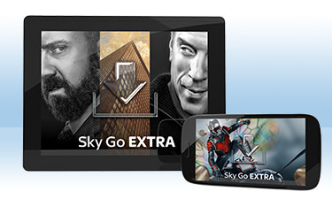 how to get sky go extra on ipad