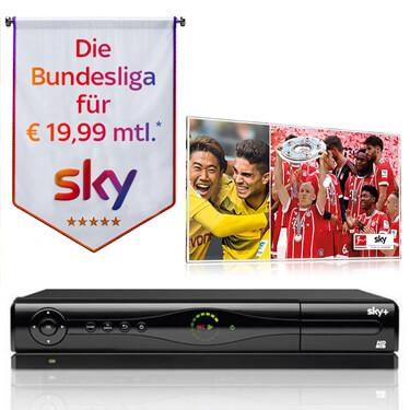 Sky HD Festplattenreceiver: Gratis dabei beim Sky Aktions-Angebot