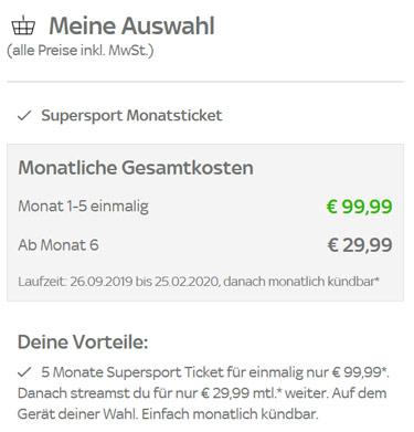 Sky Hinrunden-Pass Preise