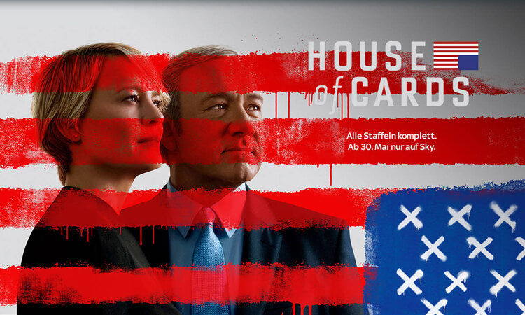 Sky zeigt House of Cards Staffel 5