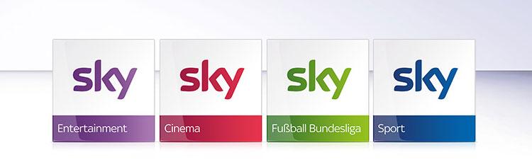Sky Pakete für Kabel TV
