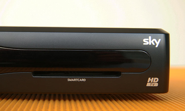 Sky+ Festplattenreceiver mit Smartcard