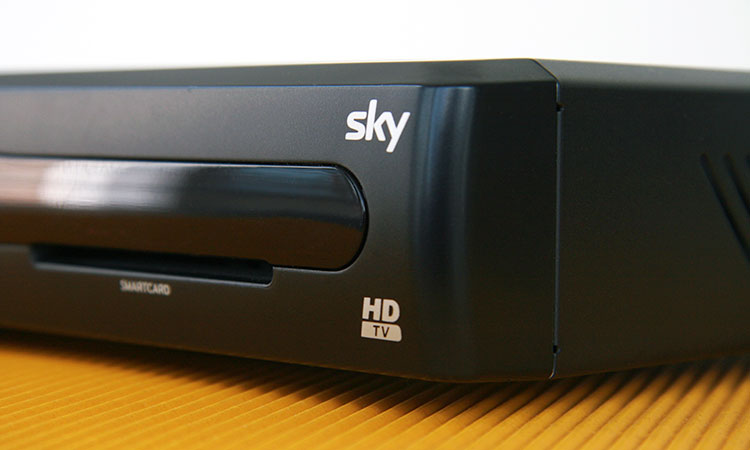Sky + Festplattenreceiver