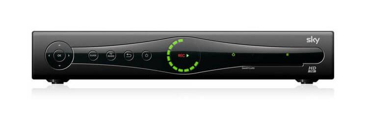 Sky HD Receiver von Humax
