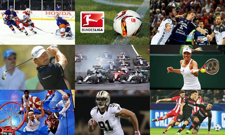 Beispiele für Sendungen aus Sky Sport