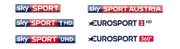 Sky Sport Sender Logos