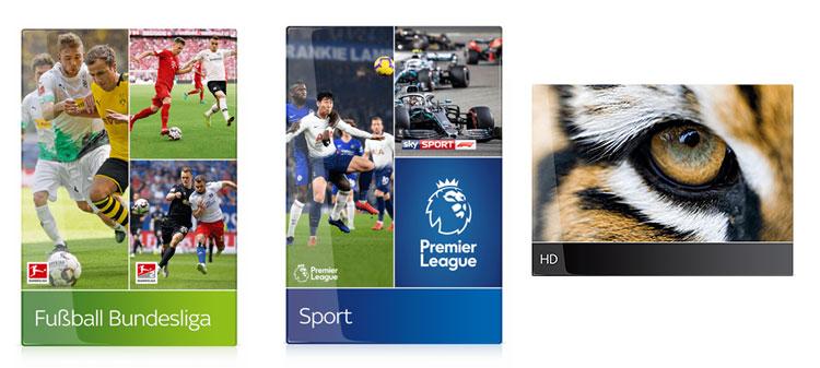 Bestandteile des Sky Sport Specials