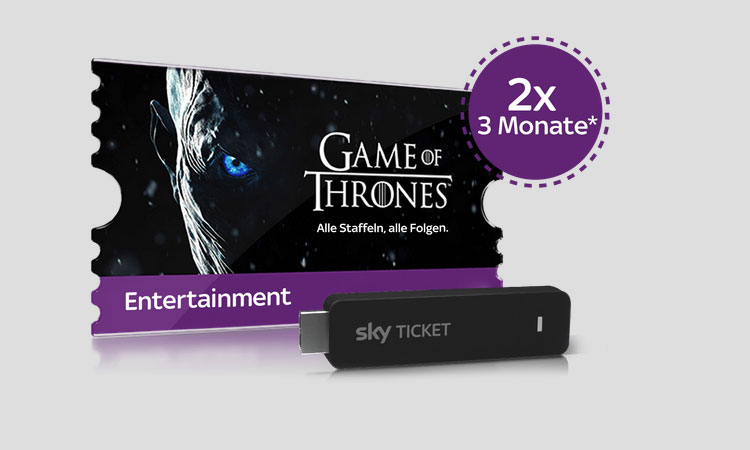 Sky Game Of Thrones Ticket