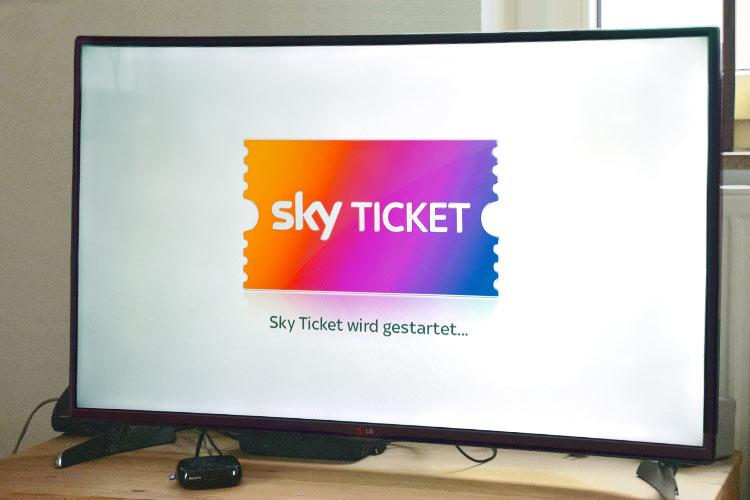 sky ticket auf tv streamen