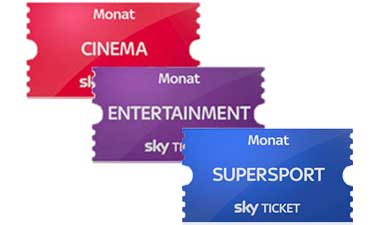 Sky Ticket Erfahrung