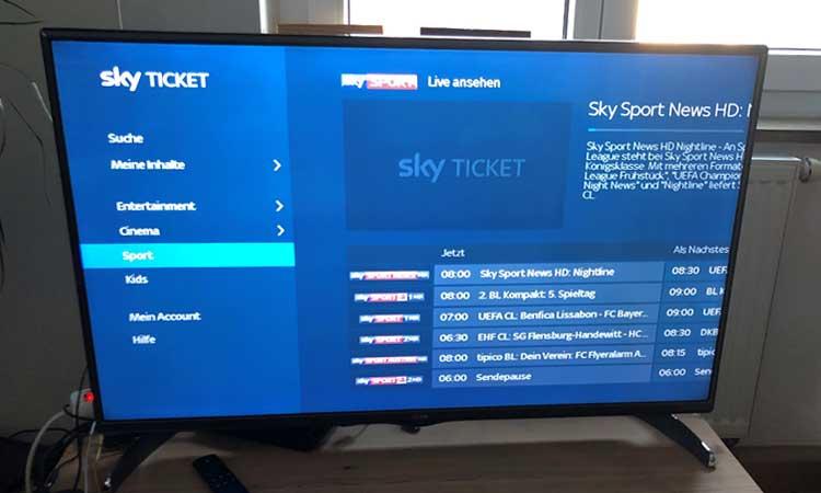Sky Tv Stick Im Test Unsere Erfahrungen Mit Dem Sky