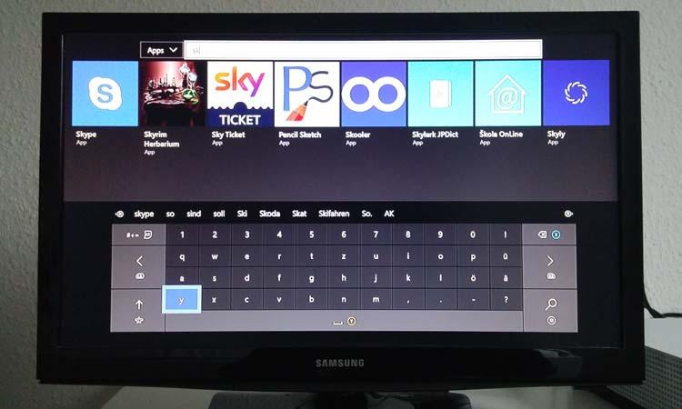 Xbox: Sky Ticket App suchen