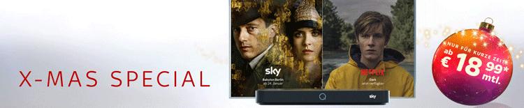 Sky X-mas Special Banner