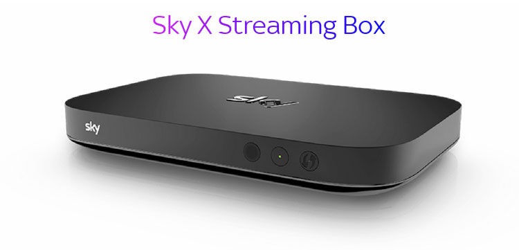 Sky X Streaming-Box