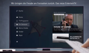 Sky on Demand über Entertain TV Plus