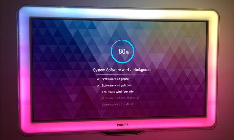 EntertainTV Installation - Schritt 2