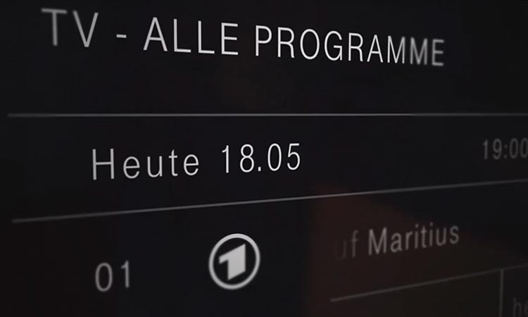 EntertainTV Plus 7-Tage-Replay: Aktueller Tag ausgewählt