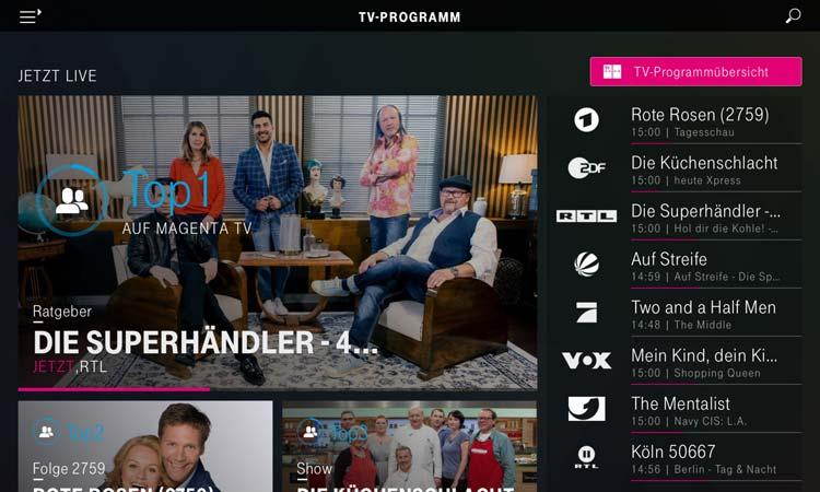 Magenta TV App - TV Programm