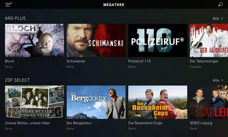 Magenta TV App - Megathek