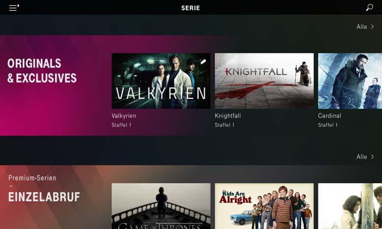 Magenta TV App - Serie