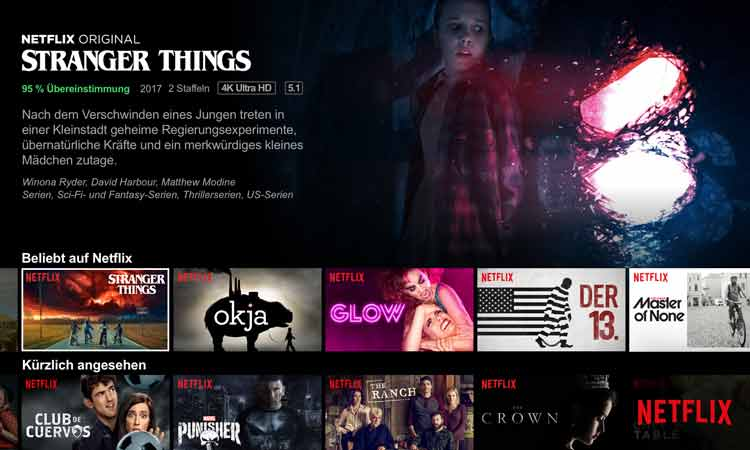 Netflix Bei Magenta Tv Filme Serien Via Receiver Streamen