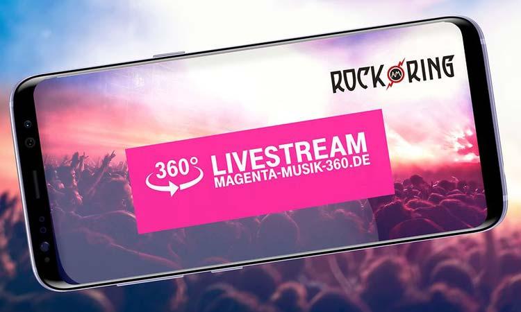 Rock am Ring live bei der Telekom