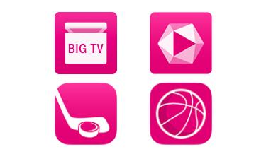 Screenshot: Telekom Shop mit Entertain-TV-Paketen