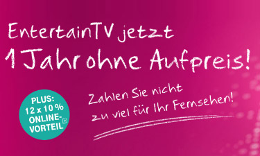 Telekom Entertain Online-Shop Screenshot
