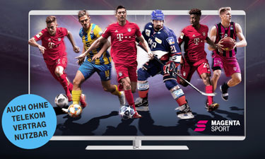 Screenshot Telekom Online-Shop: Telekom Sport