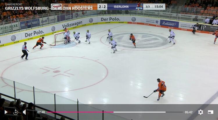 Player für Telekom Eishockey