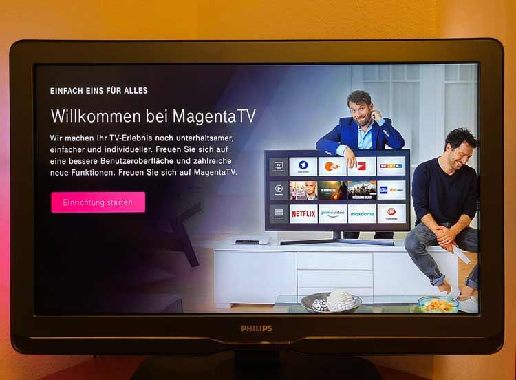 Magenta TV einrichten