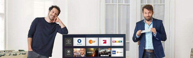 e2d4ff5ad2 Magenta TV Werbung - Die Telekom Werbespots mit Ulmen & Yardim