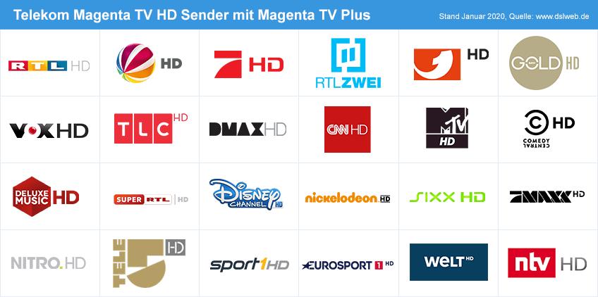 Magenta Tv Sender