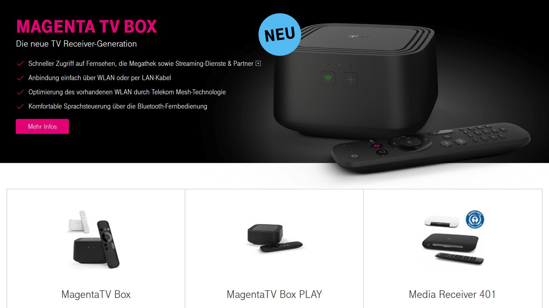 Magenta Tv Box Bestellen