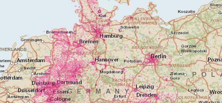 dsl verfügbarkeit karte Telekom DSL Verfügbarkeit prüfen: Check mit Adresse für DSL + VDSL
