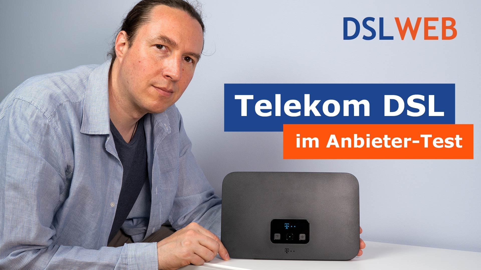 Telekom DSL im DSLWEB Anbieter-Test