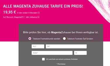 telekom dsl angebote im test magenta zuhause und magenta tv. Black Bedroom Furniture Sets. Home Design Ideas