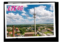 Sendemast für Telekom LTE