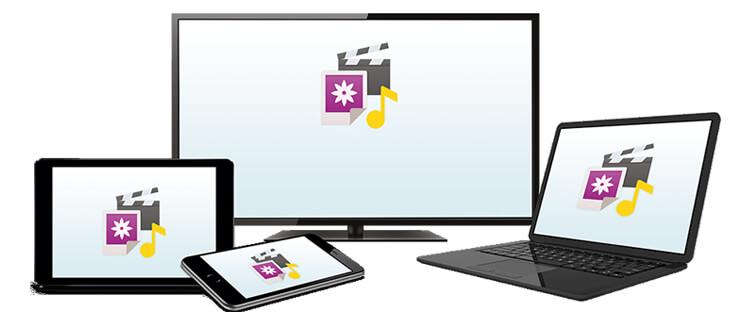Magenta Cloud Software für verschiedene Endgeräte