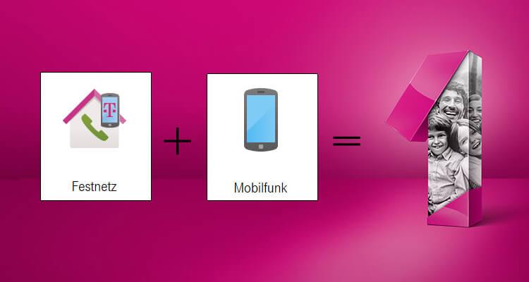 Telekom Magenta EINS - Festnetz + Mobilfunk