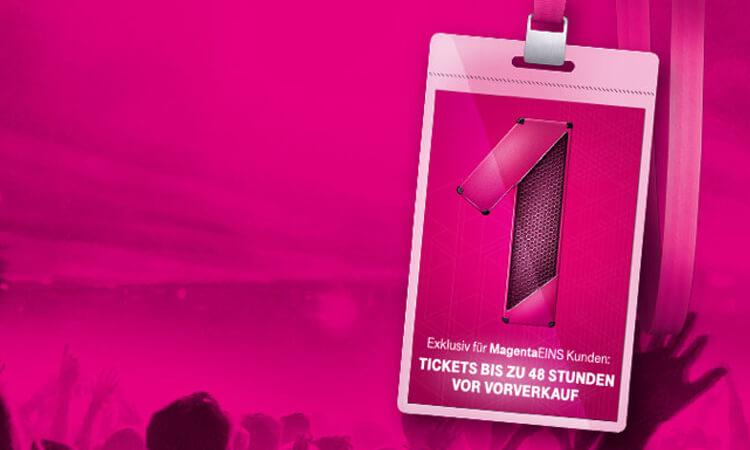 Telekom Magenta EINS Prio Tickets