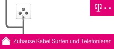 Telekom Zuhause Kabel Teaser