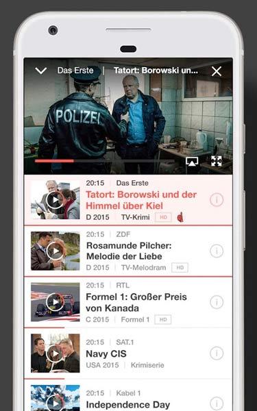 TV Spielfilm live App