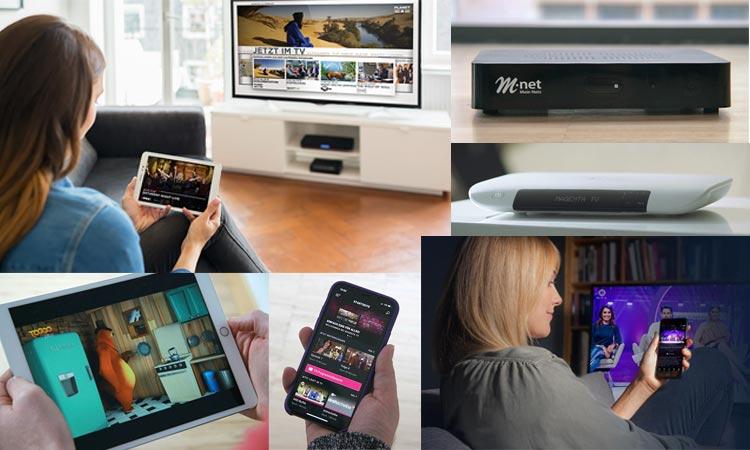 TV über Internet