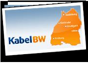 Karte: Verfügbarkeit von Kabel BW in Baden-Württemberg